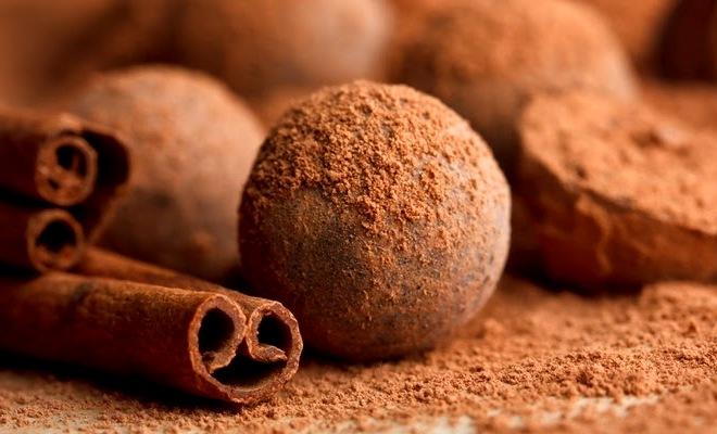 трюфели в пудре - Шоколадные трюфели - простой и вкусный рецепт!