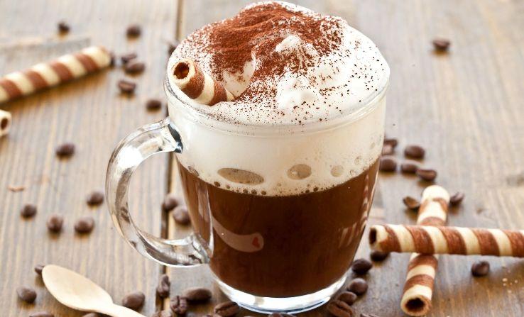 с кофе - Шоколадный смузи с кофе