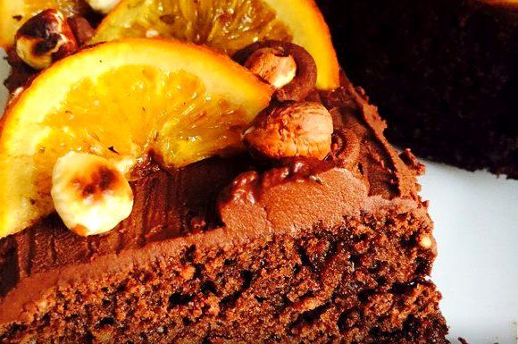 кекс с апельсином рецепт - Шоколадный кекс с апельсином и орехами - пошаговый рецепт!