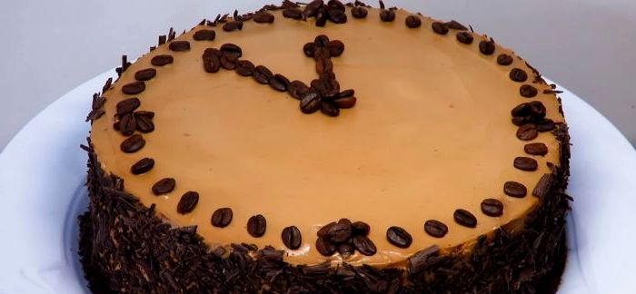 кофейный торт - Новогодний кофейный торт – праздничное настроение!