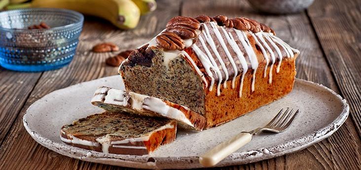 Шоколадный кекс с бананами - Шоколадный кекс с бананами
