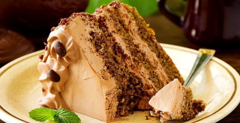 шоколадно кофейный торт - Новогодний кофейный торт – праздничное настроение!
